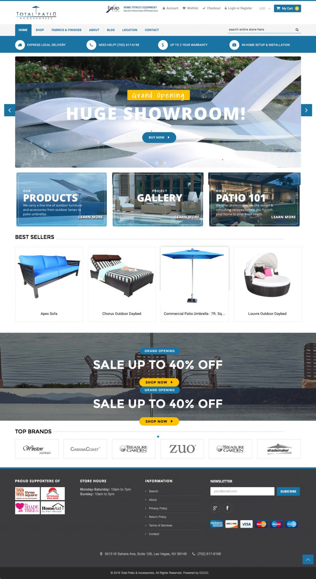 Custom Shopify Ecommerce Websites for Furniture Retailers