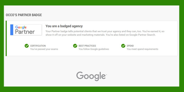 OCCO Google Agency Partner