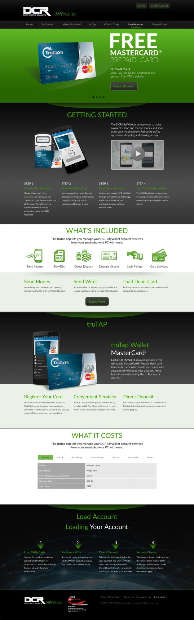 Website for Credit Card Processing