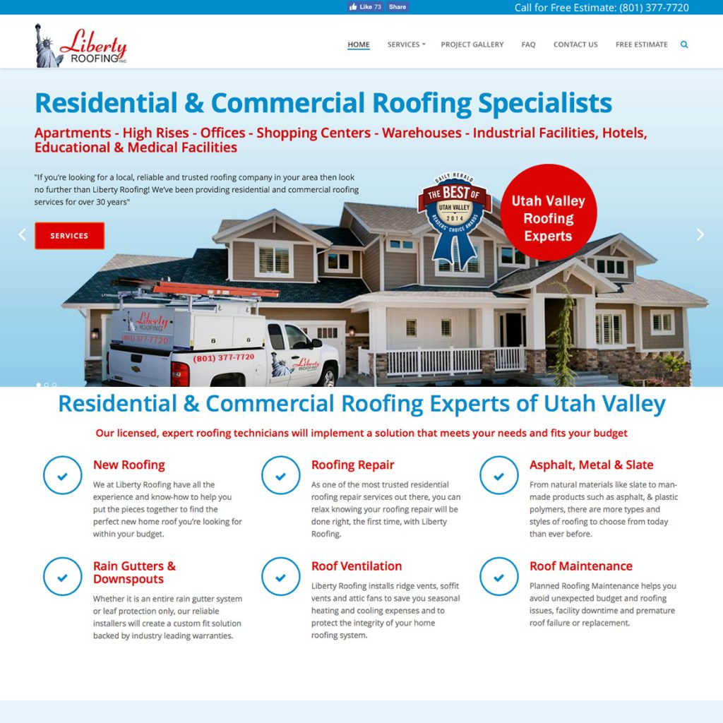 Website for Contractors