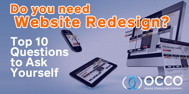 Website Redesign - Top 10 Questions to Ask
