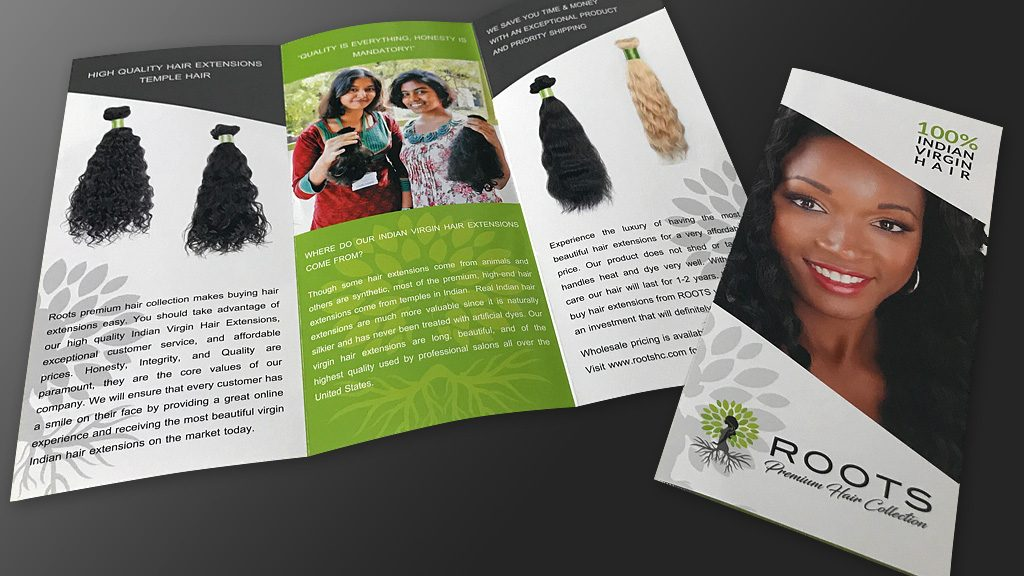Full Color Brochures Print Design – ROOTS Brochure