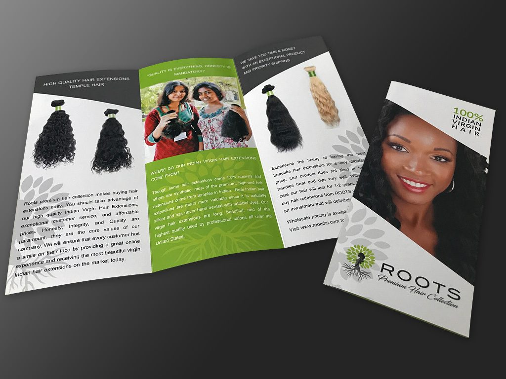 Full Color Brochures Print Design - ROOTS Brochure