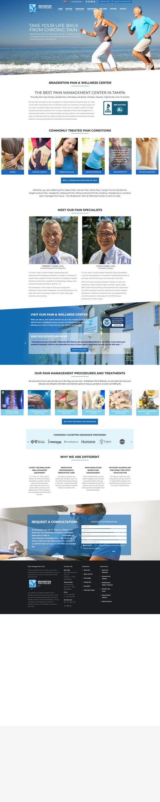 Website Design for Doctors & Physicians